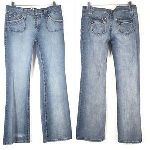 Hydraulic Straight Leg Jeans Size 13/14